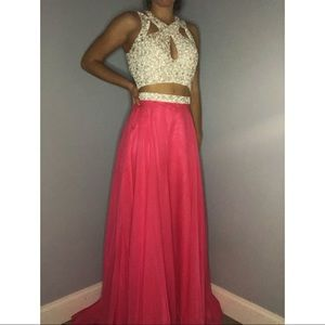 2 Piece Prom / Pageant Dress